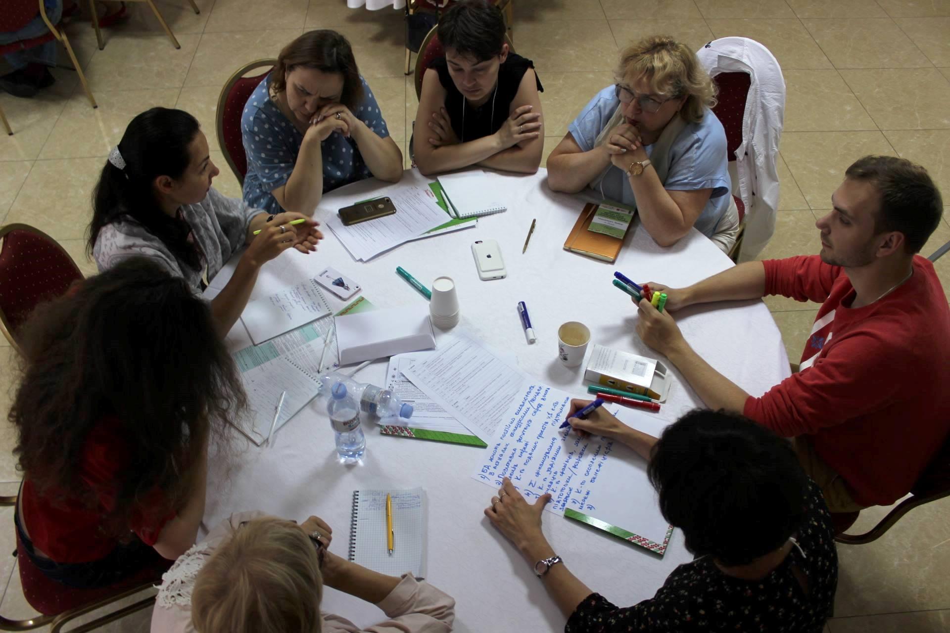 Робоча зустріч членів Мережі в Дніпрі, 6 липня 2018 року